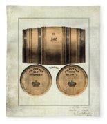 J.h. Cutter Old Bourbon Fleece Blanket