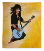 Joan Jett Fleece Blanket