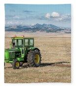 John Deere 4020 Fleece Blanket