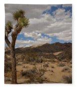 Joshua Tree National Park Fleece Blanket