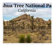 Joshua Tree National Park, California 03 Fleece Blanket
