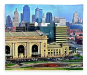 Kansas City 2019 Fleece Blanket