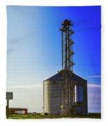 Kansas Elevator Fleece Blanket