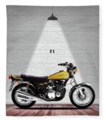 Kawasaki Z1 Fleece Blanket