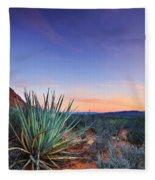 Kayenta Sunset Fleece Blanket