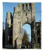 Kelso Abbey Ruin Fleece Blanket