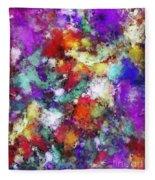 Kinetic Fleece Blanket