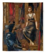 King Cophetua And The Beggar Maid 1884 Fleece Blanket