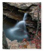 Kings River Falls Fleece Blanket