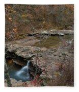 Kings River Waterfall Fleece Blanket