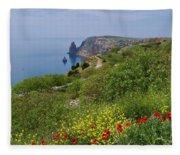Crimea View, Fiolent Fleece Blanket