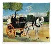 La Carriole Du Pere Junier - Digital Remastered Edition Fleece Blanket
