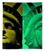 Lady Liberty For All Fleece Blanket