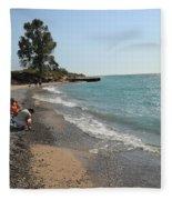 Lake Michigan Frankfort Mi Fleece Blanket