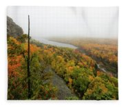 Lake Of The Clouds 9 Fleece Blanket