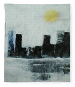 Lake Shore Misty Morn' Fleece Blanket