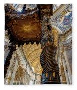 L'altare Di Bernini Fleece Blanket