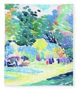 Landscape - Digital Remastered Edition Fleece Blanket