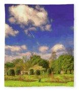 Landscape Gardening Fleece Blanket