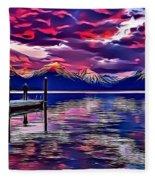 Landscapes 37 Fleece Blanket