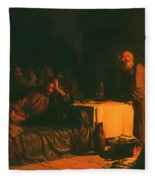Last Supper Fleece Blanket