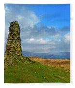 Latterbarrow In Lake District National Park Cumbria Fleece Blanket