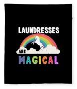 Laundresses Are Magical Fleece Blanket