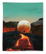 Lava Fleece Blanket