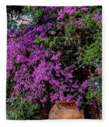 Lavender River Fleece Blanket