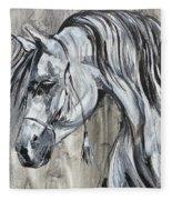 Lazy Stallion Fleece Blanket