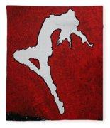 Leap Of Faith Original Painting Fleece Blanket