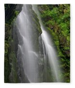 Lee Falls Close Up Fleece Blanket
