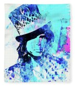 Legendary Aerosmith Watercolor Fleece Blanket