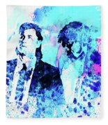 Legendary Pulp Fiction Watercolor Fleece Blanket