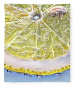 Lemon Slice Fleece Blanket