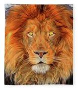 Leo 2a Fleece Blanket