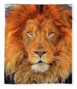 Leo 2b Fleece Blanket