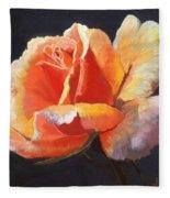 Lesla's Rose Fleece Blanket