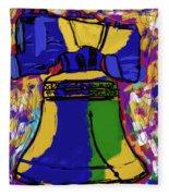 Liberty Bell Fleece Blanket