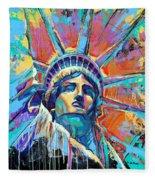 Liberty In Color Fleece Blanket