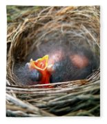 Life In The Nest Fleece Blanket