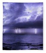 Lighting Sea Fleece Blanket