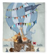 Little Adventure Days Fleece Blanket