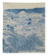 Little Missouri Badlands Enchantment Fleece Blanket