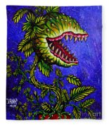 Little Shop Of Horrors Fleece Blanket