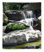 Little Waterfall. Fleece Blanket