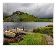 Llyn Y Dywarchen, Rhyd Ddu Snowdonia Fleece Blanket