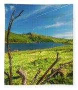 Loch Eynort, Isle Of Skye Fleece Blanket
