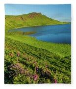 Loch Mor, Glendale, Skye Fleece Blanket