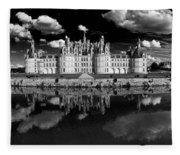 Loire Castle, Chateau De Chambord Fleece Blanket